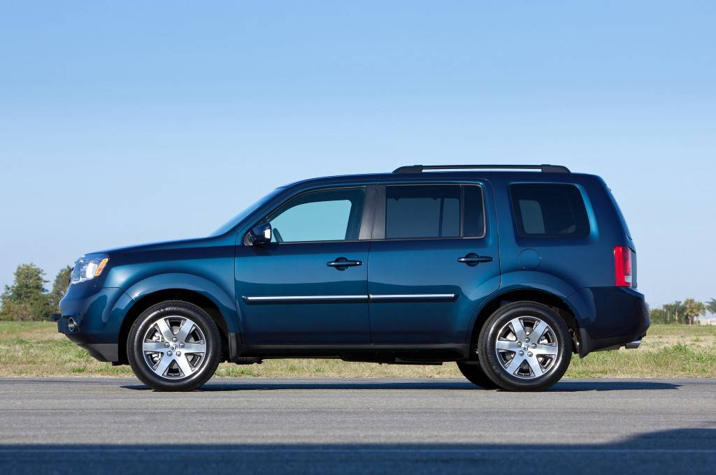 2014-Honda-Pilot-Touring-side-profile