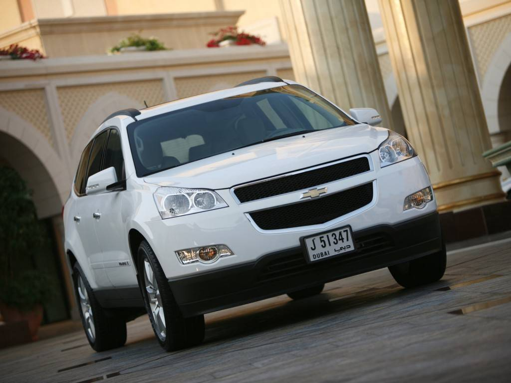Chevrolet_Traverse_SUV 5 door_2008