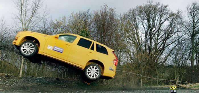 Краш - тест Volvo XC90,