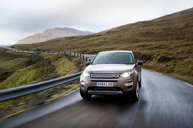 Range Rover Discovery Sport 2015