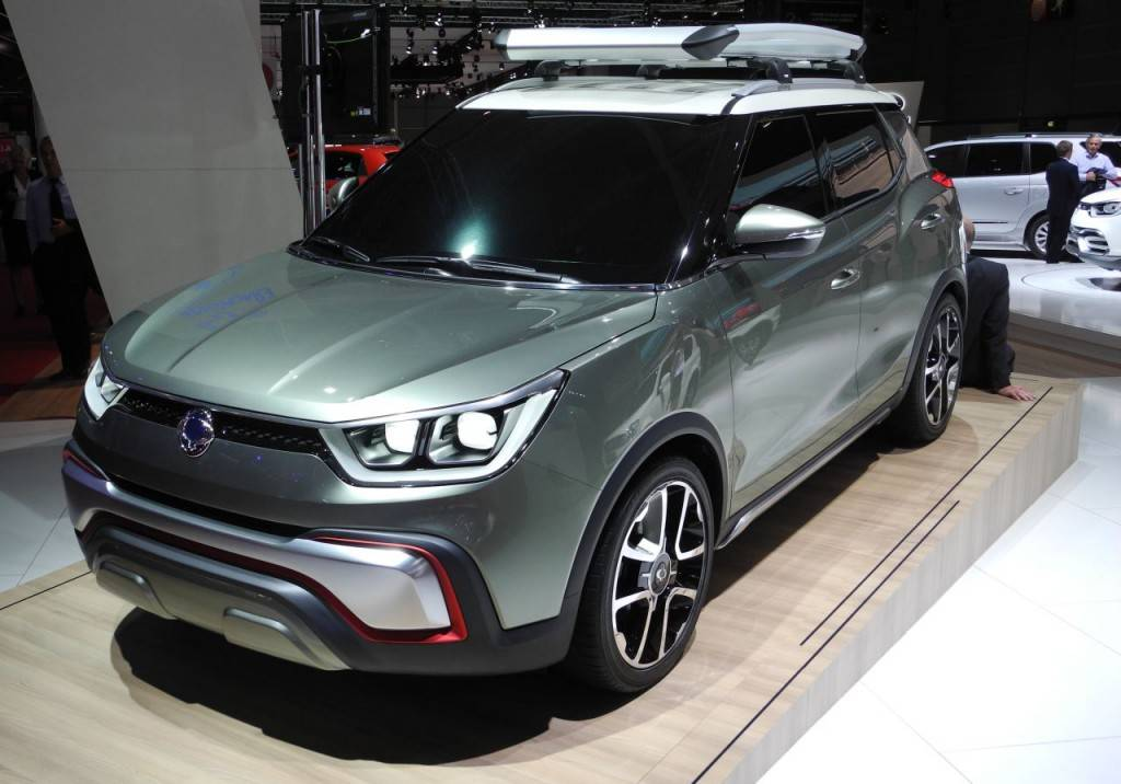 Ssangyong tauft neues Kompakt-SUVTivoli