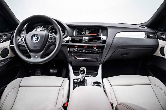 Салон у BMW X4 довольно сильно похож на салон X3. Плохого в этом, разумеется, ничего нет.