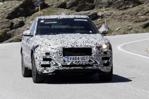 Новый Jaguar F-Pace
