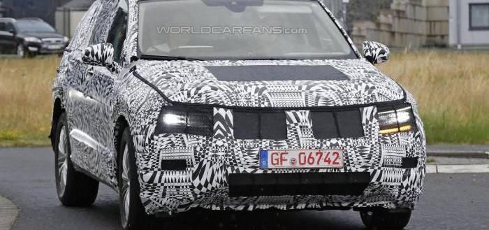 2016 Volkswagen Tiguan шпионские фото