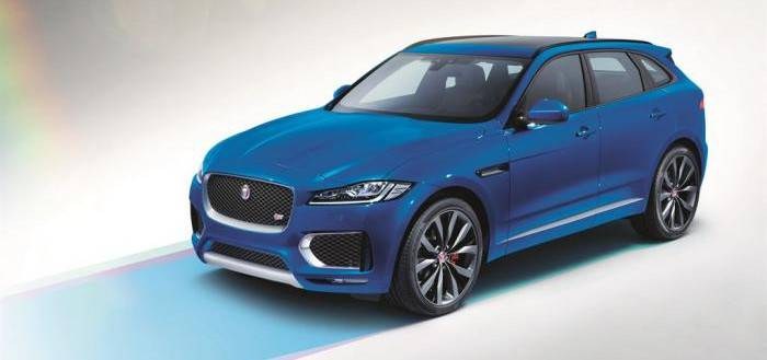 Jaguar F-PACE First Edition фото