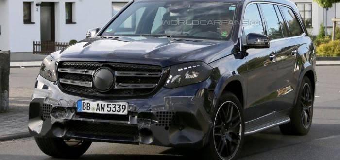 Шпионские фото Mercedes-AMG GLS 63
