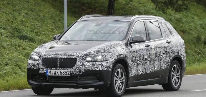 Семиместный BMW X1 шпионские фото