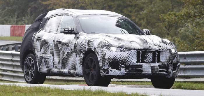 Maserati Levante шпионские фото
