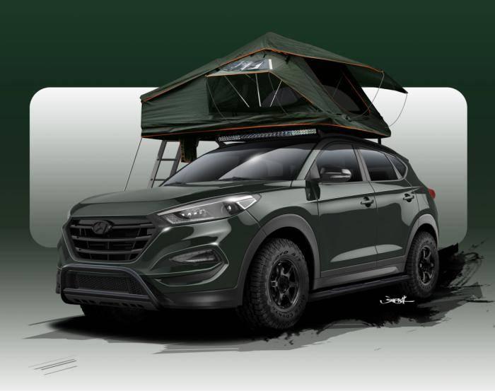 Hyundai Tucson Adventuremobile