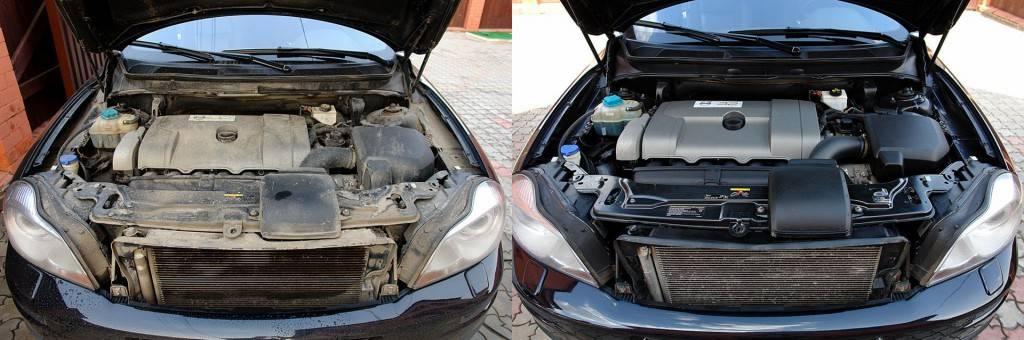 Как и чем помыть двигатель автомобиля в домашних условиях