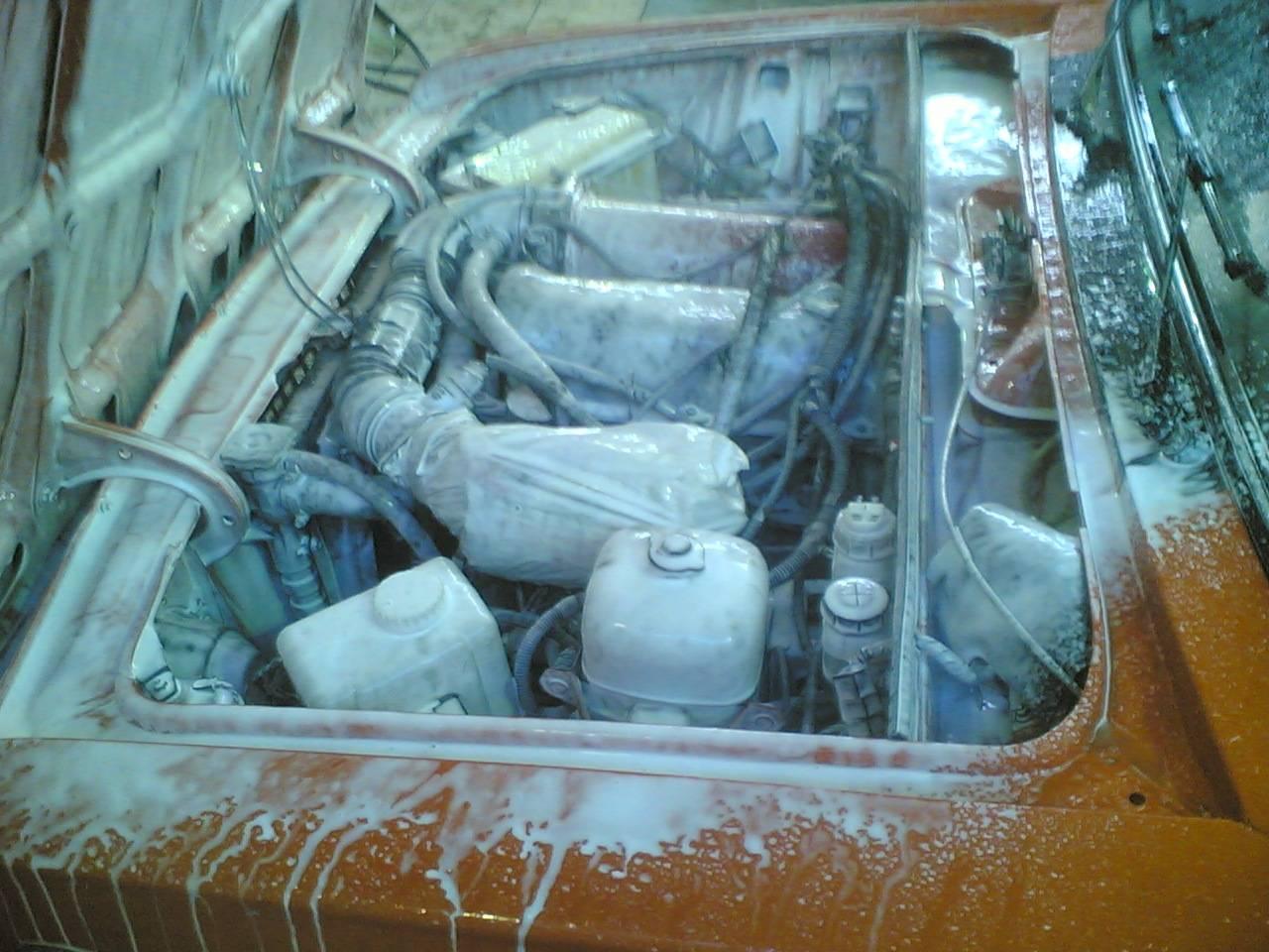 Помыть двигатель своими руками ваз 2109