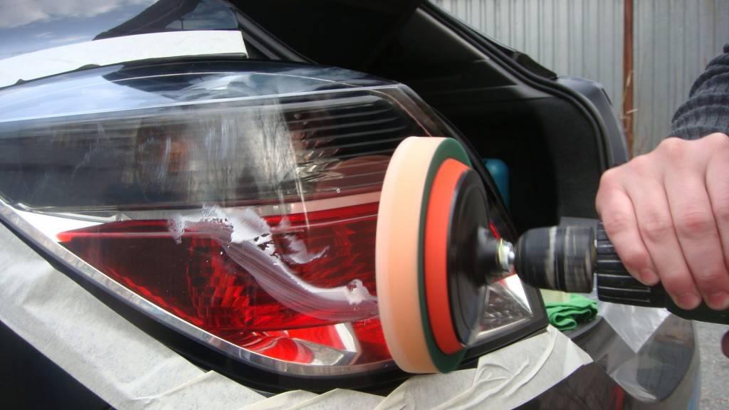 Чем полировать кузов автомобиля своими руками