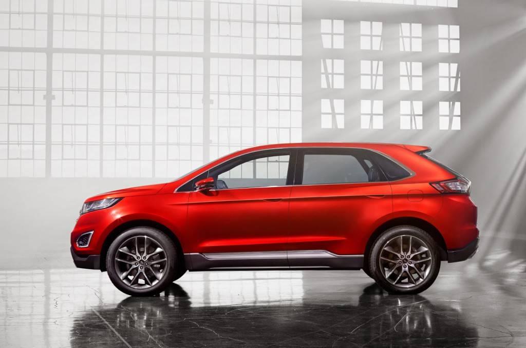 Новые Форд Эджи и Куга внешне достаточно похожи, но и различий у них достаточно