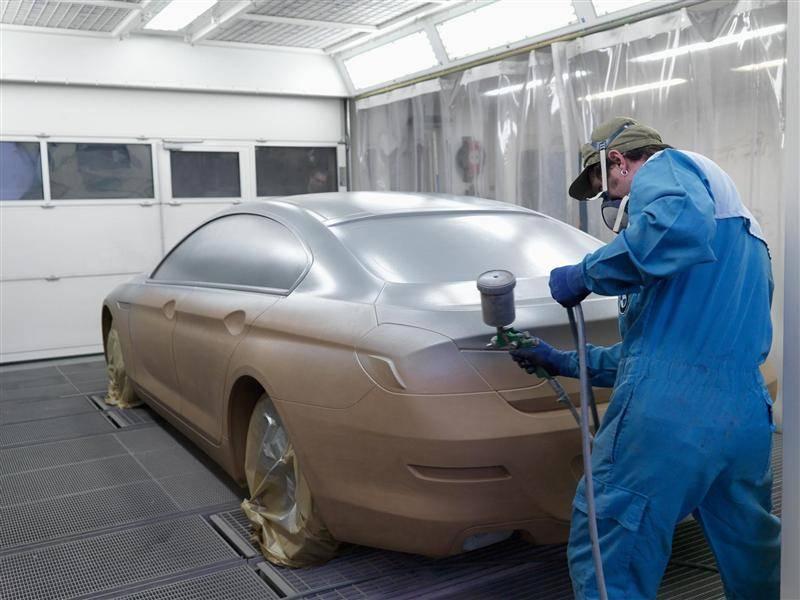 Покрываем автомобиль жидкой резиной