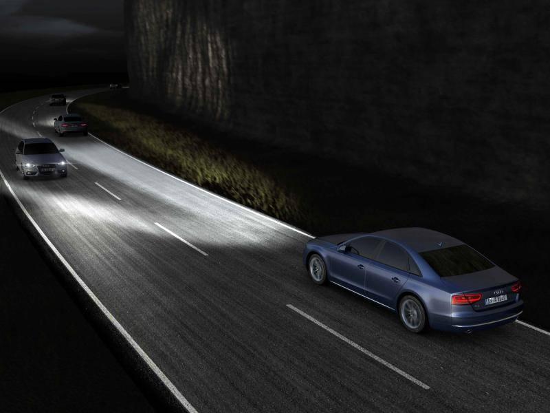 Neue Scheinwerfer für den Audi