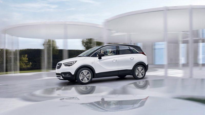 Opel Crossland X - не конкурент Мокка, а скорее его дополнение.