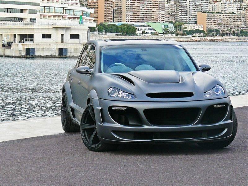 Среди мощнейших внедорожников почётное место занимает творение ателье Gemballa на базе Porsche Cayenne.