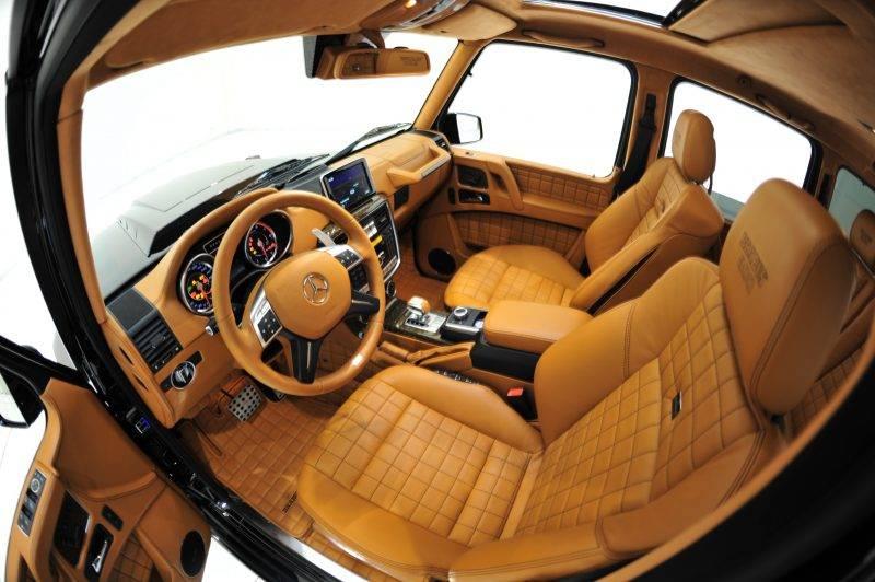 В этой версии классический G-Class приобрёл яркий и динамичный стиль.