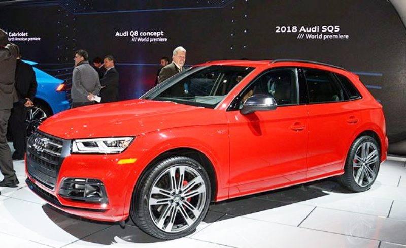 9 января 2017 года на выставке автомобилей в Детройте состоялась премьера Audi SQ5 второго поколения.