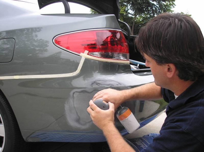 Вариантов ремонта пластикового бампера несколько, стекловолокно - лишь один из них.
