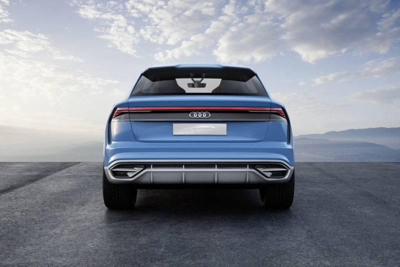 Audi Q8 Concept может привнести некоторые интересные решения в дизайн авто ближайших лет.