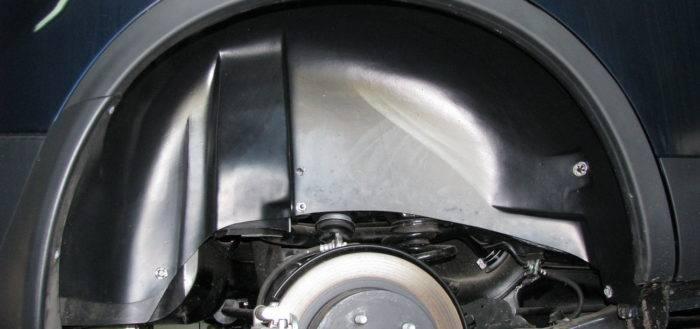 Жидкие подкрылки: шумоизоляция подкрылок автомобиля разными способами