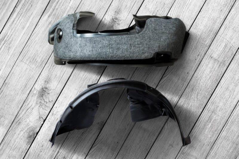 Шумоизоляцию подкрылков можно сделать самому, а можно и купить готовую.
