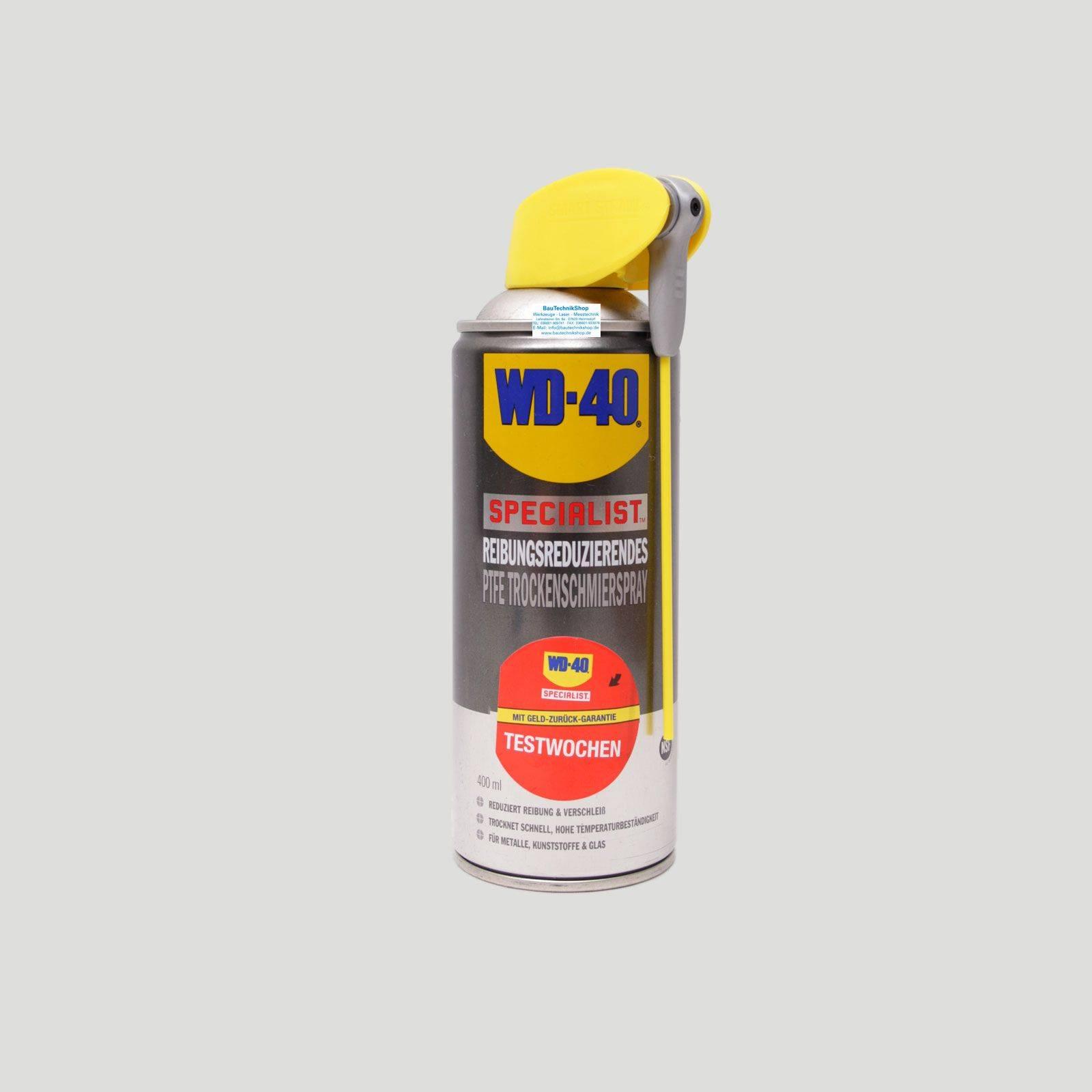 Неподражаемая WD40 нашла свое применение и в этой области.