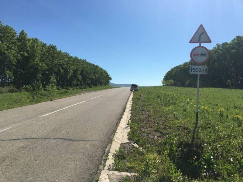Готовясь к обгону, руководствуйтесь прежде всего указаниями дорожных знаков.