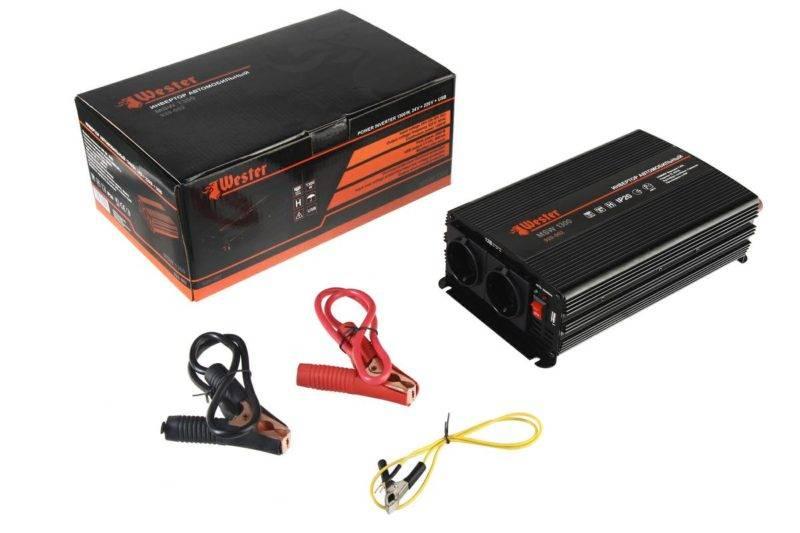 Если вам нужен инвертор для подключения серьезного инструмента, подумайте о целесообразности приобретения электрогенератора.