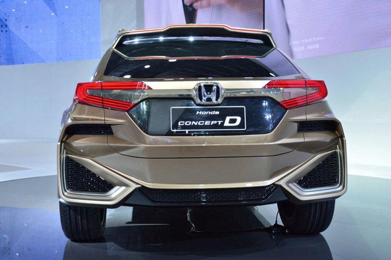Модель, предоставленная в Пекине 2017, является последователем направления Honda Concept D.