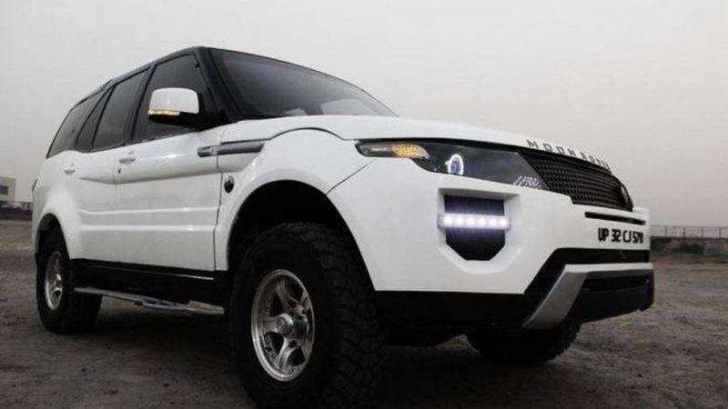 При небольших доработках Сафари можно предать облик другого, более именитого автомобиля.