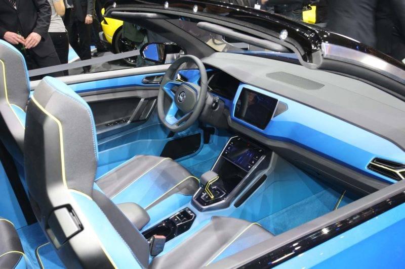 Ярко, стильнои современно — это всё обновленный кроссовер VW.