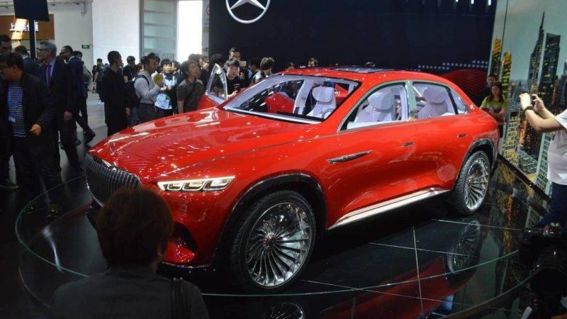 Он сконструирован на платформе MHA, которая, вероятно, станет основой для грядущего поколения Mercedes GLS.