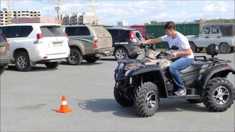 Чтобы сесть за руль квадроцикла одного водительского удостоверения мало: вы обязаны зарегистрировать свою самоходную машину в ГИБДД.
