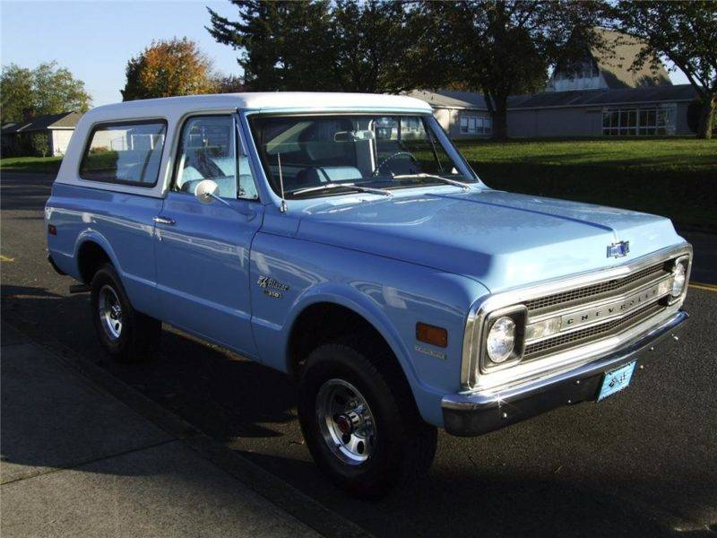 Впервые Chevrolet Blazer был представлен в далёком 1969 году.