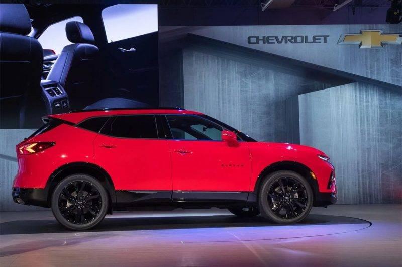 Продажи нового Chevrolet Blazer стартуют в США в начале 2019 года. Фото: motor1.com