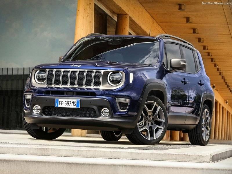 Гибридный Jeep Renegade будет собираться на базе модели 2019 года.