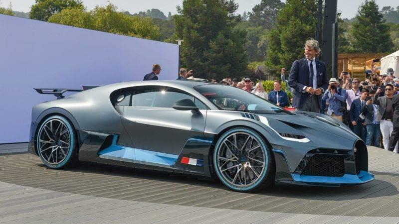 Bugatti Divo будет стоит в районе 5,9 миллионов евро.