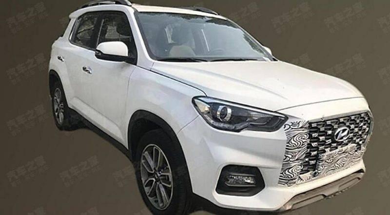 Новый Hyundai ix35 2019 года.