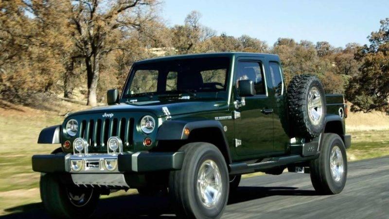 Так выглядел пикап от Jeep образца 2005 года.