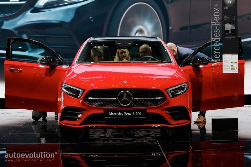 Новый A-Class обещает стать образцом для подражания многим конкурентам.