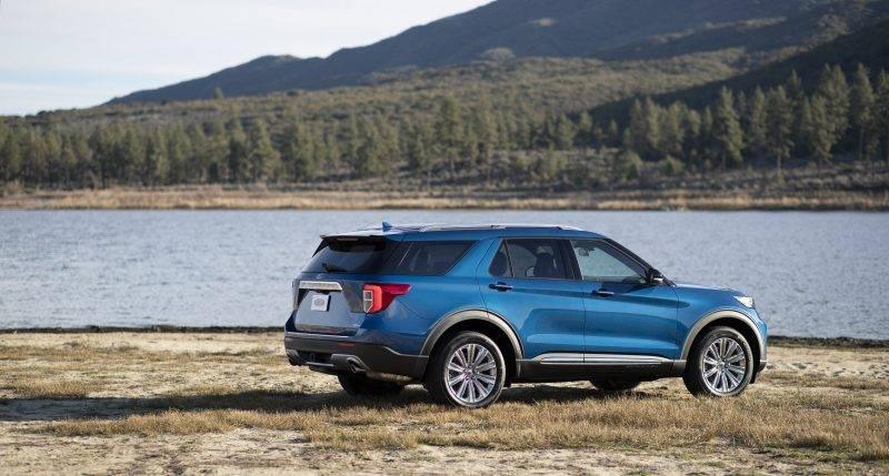 Гибридный Explorer обещает стать очень привлекательным автомобилем.