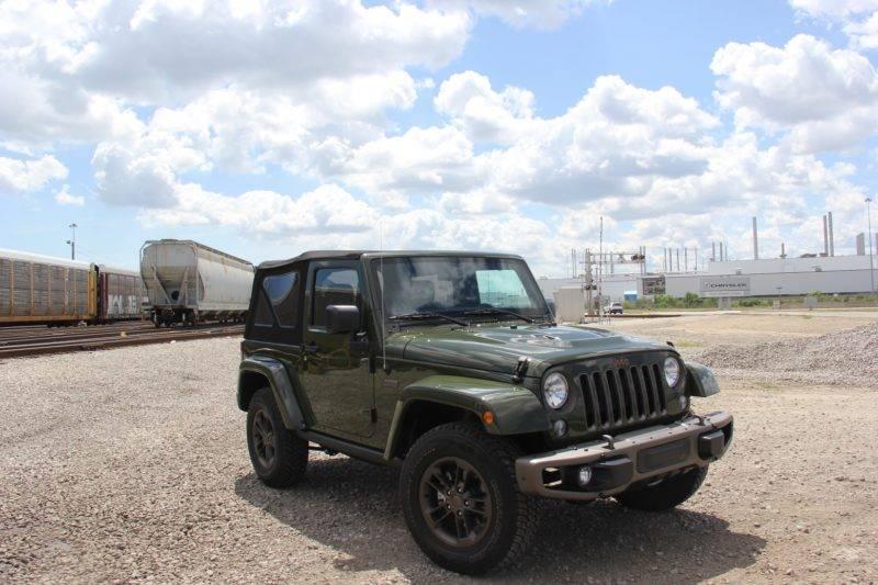 Очередная генерация Jeep Wrangler производится с 2007-го года.