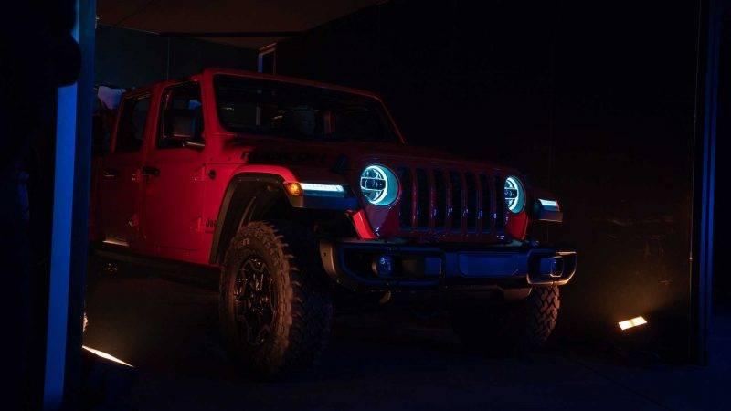 Jeep Gladiator скоро поступит в продажу в США.
