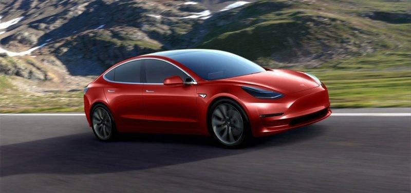 А это - Model 3.