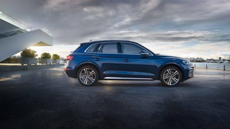 Audi Q5 текущего поколения. Фото: audi.ru
