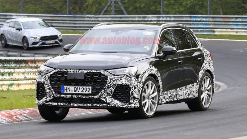 Фотошпионы смогли заснять прототип Audi RS Q3.