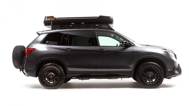 Honda Passport 2019.