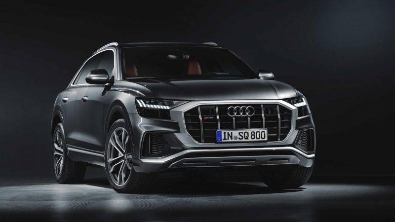 Audi SQ8 2019 модельного года.